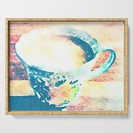 I Love Tea Design - Watercolour Style Serving Tray
