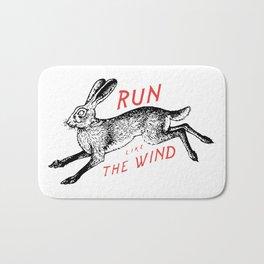 Run Like The Wind Bath Mat