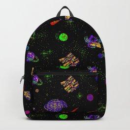 Technicolor Spaceship Backpack