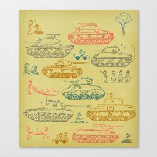 Tanks For Everything Canvas Print