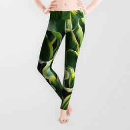 Leafy Green with Envy Leggings
