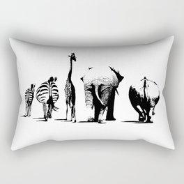 Animal Bums Rectangular Pillow