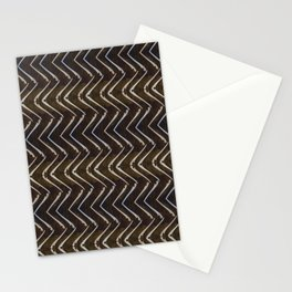 Bone Chevron Stationery Cards