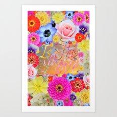 Is This Love II Art Print