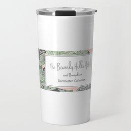 Beverly Hills hotel matches Travel Mug