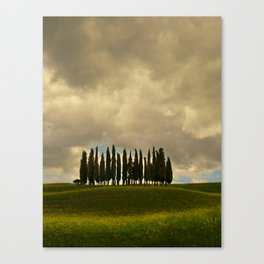 Postcards from Toskany Canvas Print