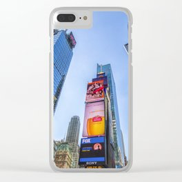 New York, Times Square Clear iPhone Case