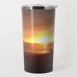 21st Beach Sunset Travel Mug