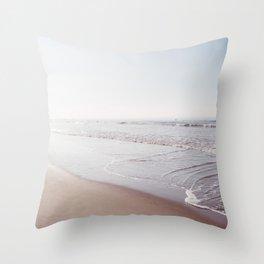 California Surfing IV Throw Pillow