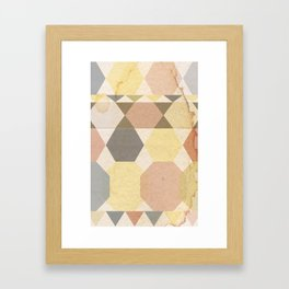 Patterns Framed Art Print