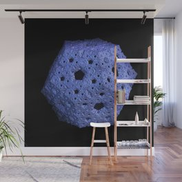 3D Fractal Dodecahedron Wall Mural