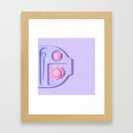 Cake for Breakfast Framed Art Print