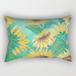 Girasoles Rectangular Pillow