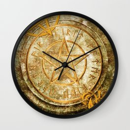 World of the Occult Wall Clock
