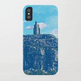 Mohonk Trail Pop Art iPhone Case