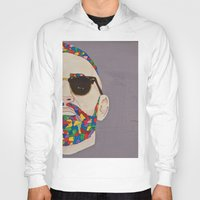 grafitti Hoodies featuring grafitti art by Kristina Jovanova