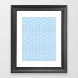 Hive Mind Light Blue #280 Framed Art Print