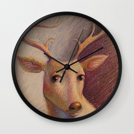 """Graceful Gaze"" Wall Clock"