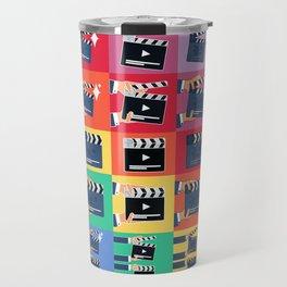 Filmmaker Clapper Slate Travel Mug