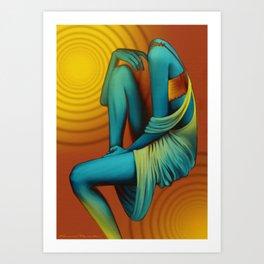 'Faceless' Part I Art Print