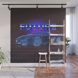 FUTURE past Wall Mural