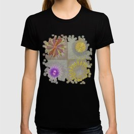Anticapitalistically Combination Flower  ID:16165-030023-59450 T-shirt