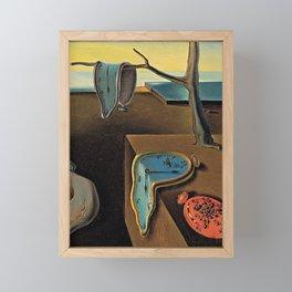 The Persistence of Memory Salvador Dali Framed Mini Art Print