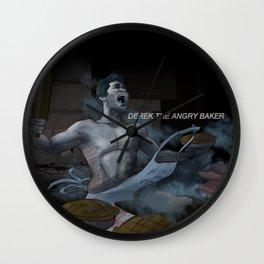 Derek the angry baker - Teen Wolf Wall Clock