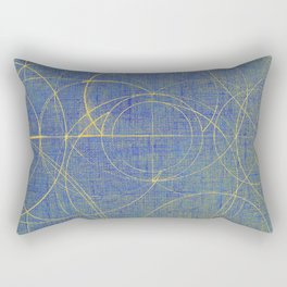 Aurea (Blue Version) Rectangular Pillow
