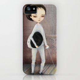 The fencer iPhone Case