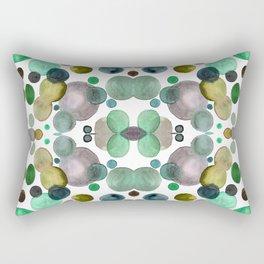 Watercolor circles Rectangular Pillow
