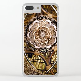 Bless Nest Clear iPhone Case