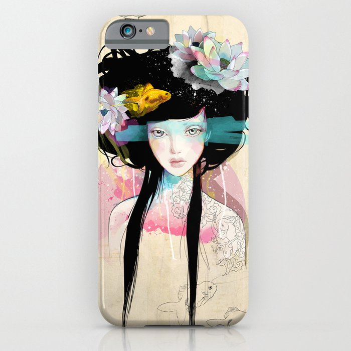 Nenufar Girl iPhone Case
