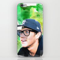 niall horan iPhone & iPod Skins featuring Niall Horan #1 by Sierra Ferrell