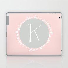 Garland Initial K - Grey Laptop & iPad Skin