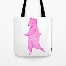 Dancing Bear №2 Tote Bag