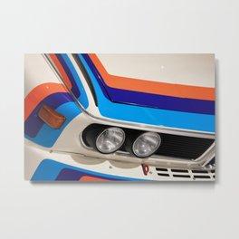 BMW CSL Metal Print