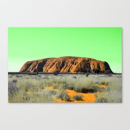 """Not So """"Red Center"""" Canvas Print"""