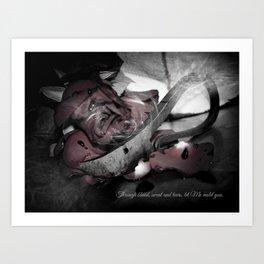 Cutting Edge Erotica, III Art Print