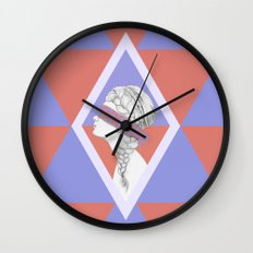 Blindfold Wall Clock
