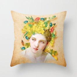 Demeter Throw Pillow