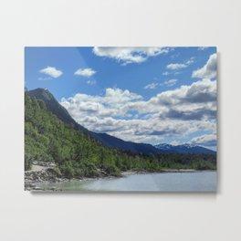 Juneau Landscape Metal Print