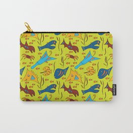 Crazy Fish Carry-All Pouch