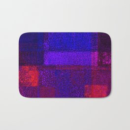 Christmas Square Dance Bath Mat