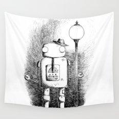 Hobo Robot Wall Tapestry