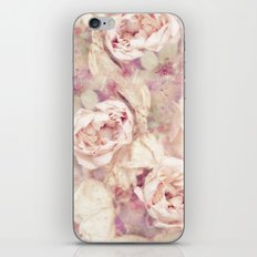 FADED ROSES iPhone Skin