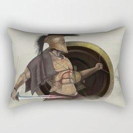 Dust & Bronze Rectangular Pillow