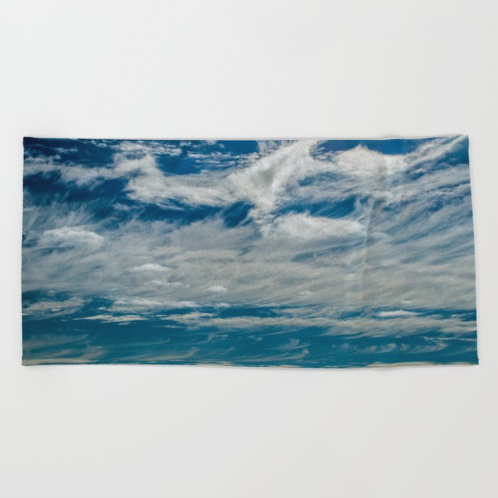 SIMPLY CLOUDS Beach Towel
