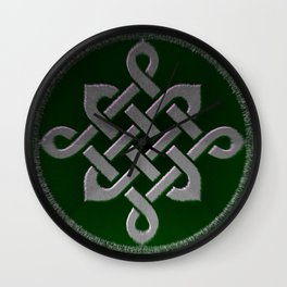 celtic knot symbol Wall Clock