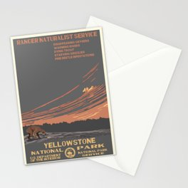 National Parks 2050: Yellowstone Stationery Cards